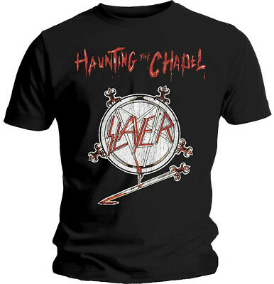 Slayer 'Haunting The Chapel' (Black) T-Shirt - NEW & OFFICIAL!