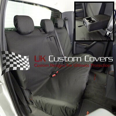 FORD RANGER 2006-2012 TAILORED FRONT /& REAR SEAT COVERS BLACK 153 154