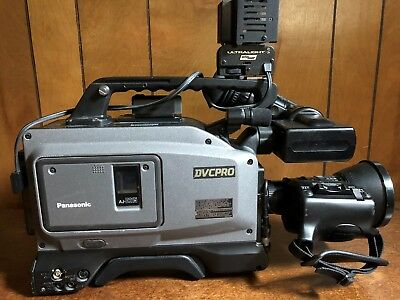 Camcorder, Professional, Panasonic DVCPRO