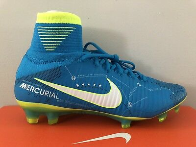 factory authentic 4dfaa 4319d NIKE MERCURIAL SUPERFLY V NJR FG 921499-400 Size 6.5 Soccer Cleats Neymar  Jr.
