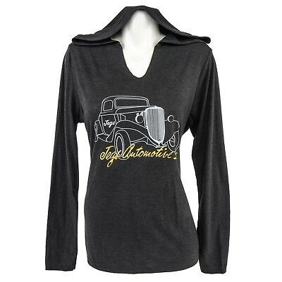 JEGS Apparel and Collectibles 18224 Ladies Vintage Car Hoodie 2X-Large