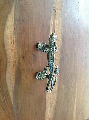 Vintage Antique Style Solid Brass Pair Of Cabinet Door Handle