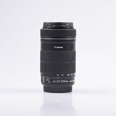 Canon EF-S 55-250mm f/4-5.6 IS STM Objetivo
