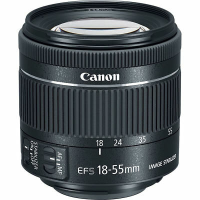 Canon EF-S 18-55mm f4-5.6 IS STM Objectif (Boîte blanche)