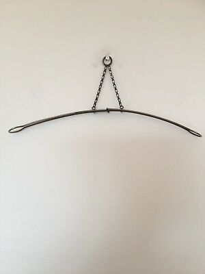 Vintage Metal Collapsible/aadjustable Travel Coat Hanger Patented Design