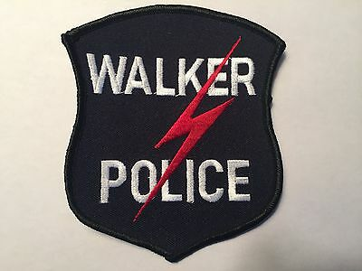 Walker MICHIGAN Police Patch