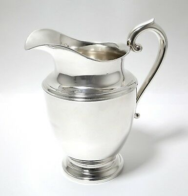 Silver jug (pitcher). USA, F.B. Rogers Silver Co, 20th century.