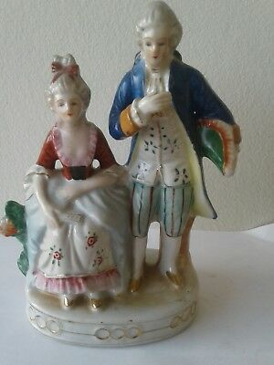 Colonial Figurine Màde In Occupied Japan