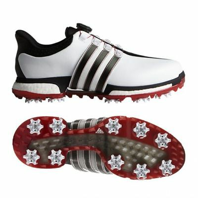 adidas Tour360 Boa Boost Golf Shoes F33449 White/black/power red