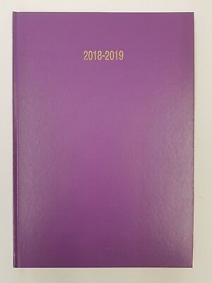 2018-2019 Academic Diary Year A4 Week to View Quality Diaries School CLEARANCE