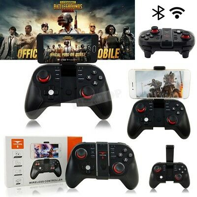 T9 Wireless Bluetooth Gamepad Remote Game Controller Joystick For PUBG Mobile