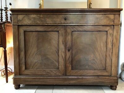Victorian Antique Ships Captains ? Sideboard Cupboard Buffet Server Cabinet