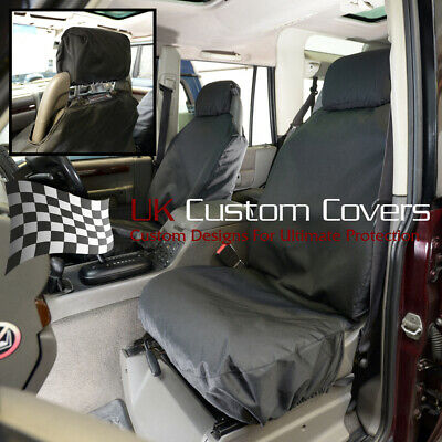 Land Rover Discovery 2 TD5 2001 Impermeable Fundas Asiento Frontal Negro 148