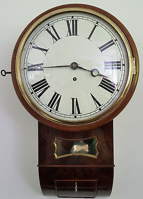 Eye-catching Trunk Dial Clock with Victorian Fusee Movement, Convex Dial and