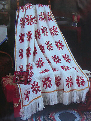 Crochet Pattern Only Stunning Texas Star Afghan Grandmothers