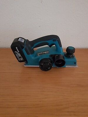 2016 Makita LXT 18V cordless planer model DKP180.With 3AH battery.No charger.