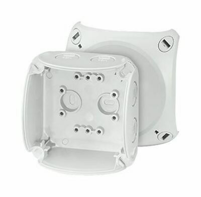 Polycarbonate IP66/67 Junction Box Knock Out, 93 x 93 x 62mm, Grey