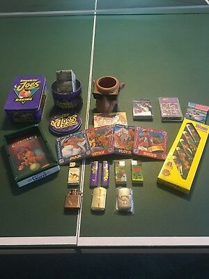 Vintage Joe Camel Collection, lighters, coasters, matches, mug, and more
