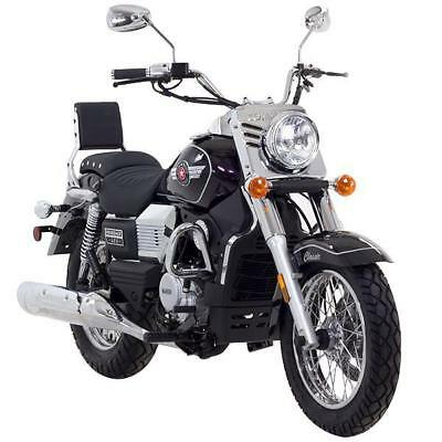 UM Commando Classic EFi 125cc Cruiser Motorcycle - Watercooled - SAVE £200
