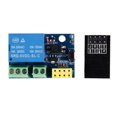 5X(ESP8266 ESP-01S 5V WiFi Relay Module Things Smart Home Remote Control S E2H5)