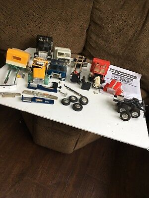 JUNKYARD LOT Truck Plastic Model Kits Partially Built Parts Kits As Is