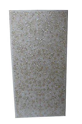 3'x6' Marble Dining Table Top Mother of Pearl Stone Inlay Marquetry Arts Decor