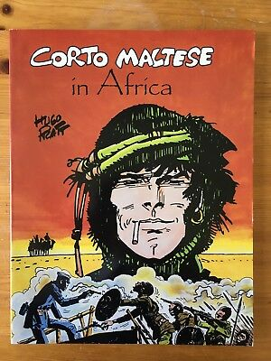Corto Maltese in Africa - Hugo Pratt - 1987 NBM Graphic Novel - English - #5