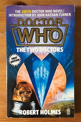 Doctor Who - The Two Doctors - First 1st Edition - Target 100 - Robert Holmes
