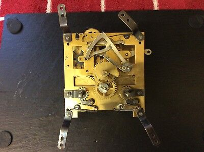 Small Vintage Clock Parts, Movement For Spare Repair (lot B)