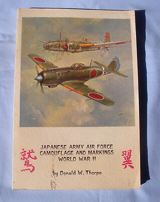 japanese army air force World war II, camouflage and markings, Donald W.Thorpe