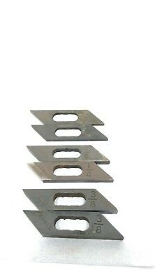 Doall Sawing Band Saw Guide Inserts 3/8, 1/4, 3/16.
