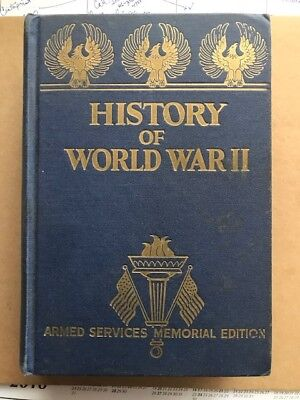 Sale Of Vintage Books: Memorial History Of World War Ii (1945) Photos