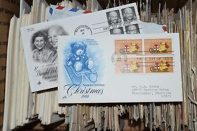 United States FDC & Postal History Cover Collection of over 460 All Pictured
