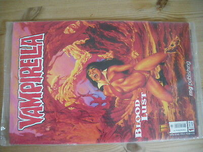 Vampirella, Blood Lust, Gbü,  Band 1, Verlag Mg Publishing, Top, Ovp