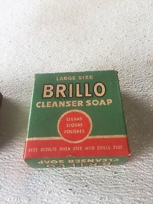 ** Rare ** Vintage Antique 1940s Brillo Cleanser