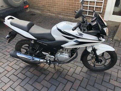 Honda CBF 125 White Very Low Milage