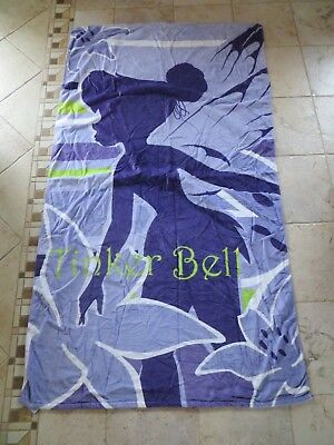 "Tinker Bell Walt Disney Beach Towel 38"" x 68"" NEW"