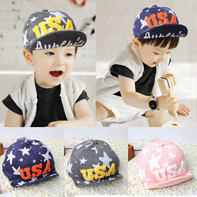 Kids Fashion Baseball Cap Unisex Boys Girls Children Baby Baseball Cap USA