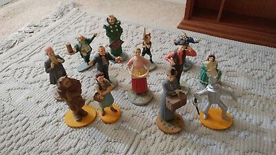 Wizard of Oz Figurines Dorothy Wicked Witch Collectible Hollywood Cinema Hobby