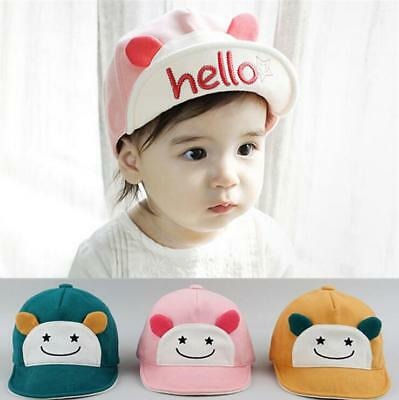 Kids Fashion Baseball Cap Unisex Boys Girls Children Baby Baseball Cap HELLO