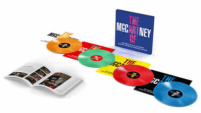THE ART OF McCARTNEY 4LP 180g Coloured Vinyl Box Set PAUL BEATLES New and Sealed