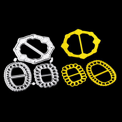 Round gear Cutting Die Scrapbooking Embossing Card Making Paper Craft QY