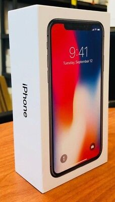 Apple iPhone 7, 7 Plus, 8, 8 Plus, and X OEM Empty Boxes in Excellent Condition