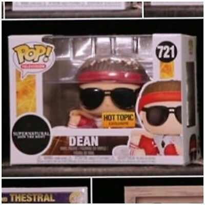 Funko Pop! Dean Supernatural *Hot Topic Exclusive* #721In Hand + Protector