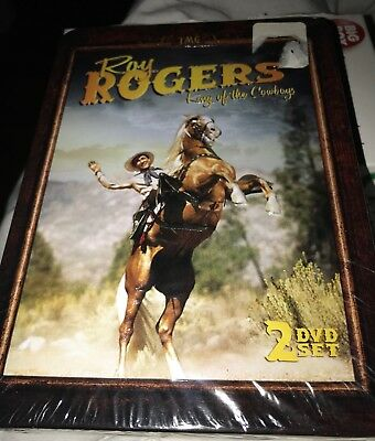 Roy Rogers King Of The Cowboys Dvd Box 2 Discs