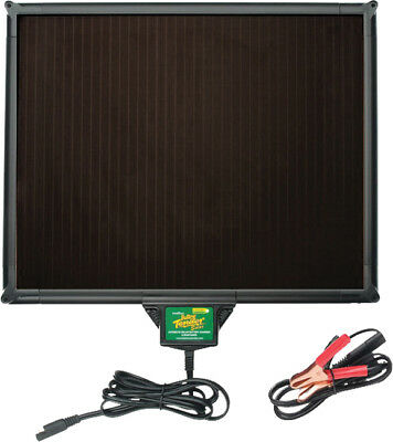 """5W Solar Battery Charger 13.25""""X16""""X0.875"""" 021-1163 For 12v Powersport Charging"""