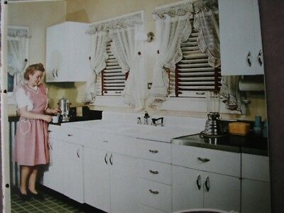 1945 Youngstown KITCHENS Catalog ~ Home Design Decoration Cabinets Sinks Layouts