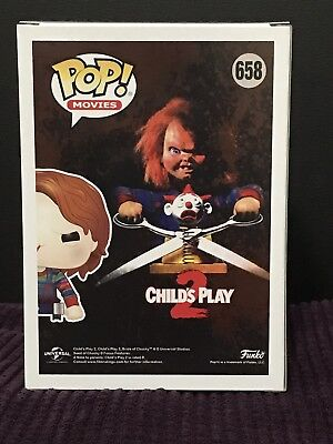Funko Pop Childs Play 2 Chucky On Cart #658 Hot Topic Exclusive PRESALE NEW
