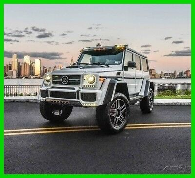 2017 Mercedes-Benz G-Class G 550 4x4 Squared 2017 BRABUS G550 4X4 SQUARED !!  OVER $80,000 IN BRABUS UPGRADES