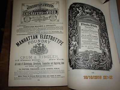 Pettengill's Newspaper Directory And Advertiser's Hand-Book 1877 Illustrated